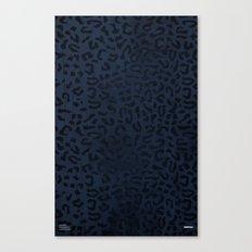 Modern Woodgrain Camouflage / Zaire KDP Print Purple Canvas Print