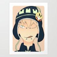 dmmd Art Prints featuring Noiz by Liyu