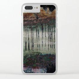 Bleached Dream Ladder Clear iPhone Case