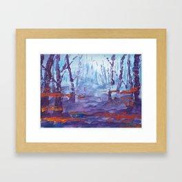 Forest Spirits Framed Art Print