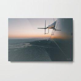 Airborne. Metal Print