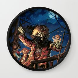 Monkey Island 2  Wall Clock