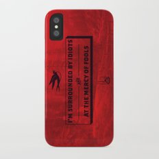 Surrounded iPhone X Slim Case