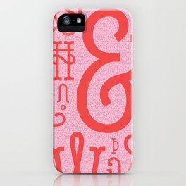 Belleville FY - shades of red iPhone Case