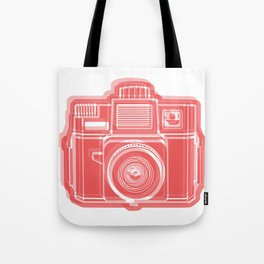 I Still Shoot Film Holga Logo - Red Tote Bag