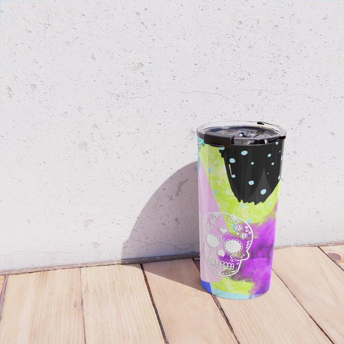 Neon Sugar Travel Mug