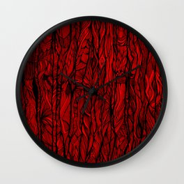 Tree Bark Wall Clock