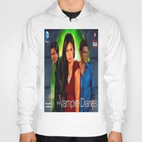 vampire diaries Hoodies featuring The Vampire Diaries by Don Kuing