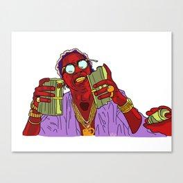 T H U G G E R Canvas Print