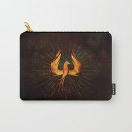 Fire Phoenix Bird Carry-All Pouch