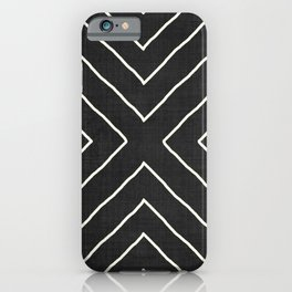 Hook in Black and White iPhone Case