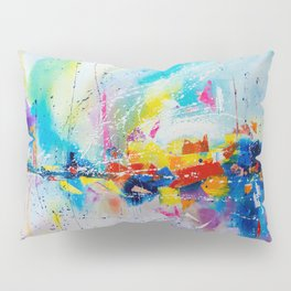 Travel of color Pillow Sham