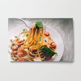 Buon Appetito Metal Print