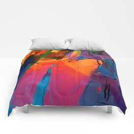 Walking with Sunset  Comforters