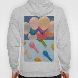 Two states of balloons Hoody