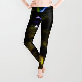 Landscape with an Alley of Trees Leggings