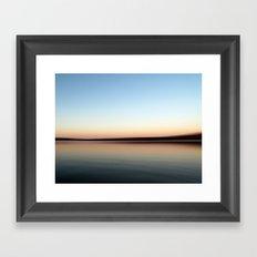 Lake Copeton Framed Art Print