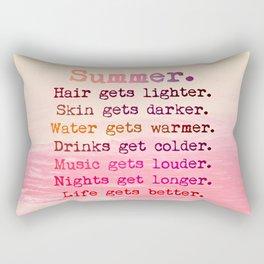SUMMER IN PINK Rectangular Pillow
