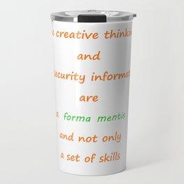 Forma mentis Travel Mug