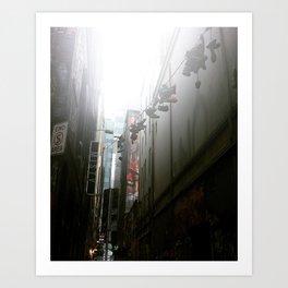 Laneways Art Print