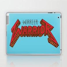 Warrior Not Worrier Laptop & iPad Skin