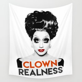 """""""Clown Realness"""" Bianca Del Rio, RuPaul's Drag Race Queen Wall Tapestry"""