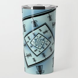 Spinning Disc Golf Baskets Travel Mug