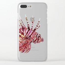 Ocean Dream - Lion Fish Clear iPhone Case