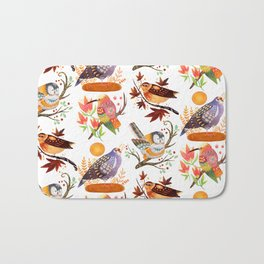 Seasonal Birds Bath Mat