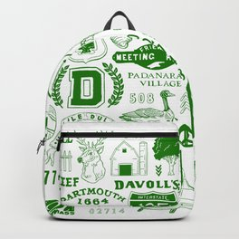 Dartmouth Massachusetts Print Backpack