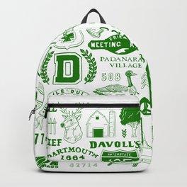 Dartmouth Massachusetts Print Backpack