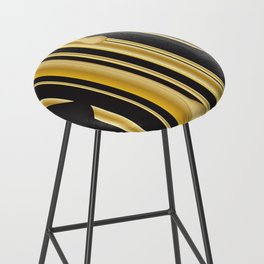 DRIPPING IN GOLD Bar Stool