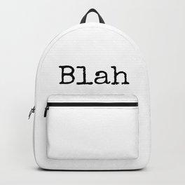 Blah Blah Blah Backpack