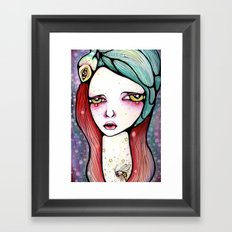 We Are All Just Star Dust Framed Art Print