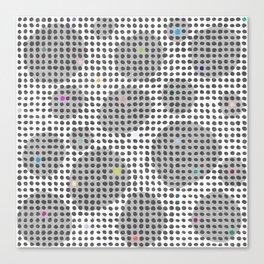 Spot Light in the Dark Canvas Print