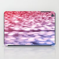 glitter iPad Cases featuring Pink Purple Blue Glitter by WhimsyRomance&Fun