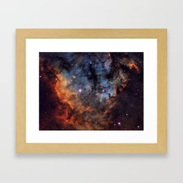 The Devil Nebula Framed Art Print