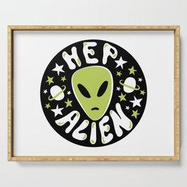 Hep Alien Serving Tray