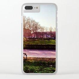 La Bici Clear iPhone Case
