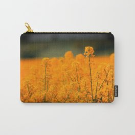 Orange Rapeseed Carry-All Pouch