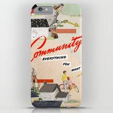 Community Slim Case iPhone 6 Plus