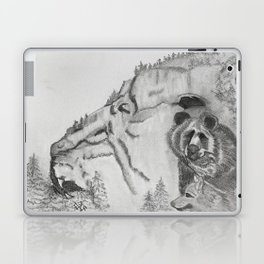 The Fairytale about the Wolf, Bear, and the Lion Laptop & iPad Skin