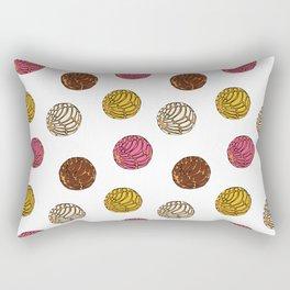 Pan Dulce (white bg) Rectangular Pillow