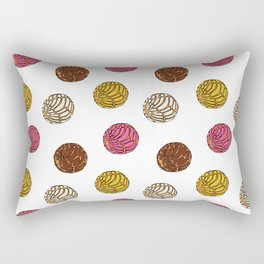 Pan Dulce (white bg) Rectangular Pillow