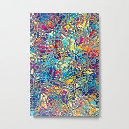 Pattern LIX Metal Print