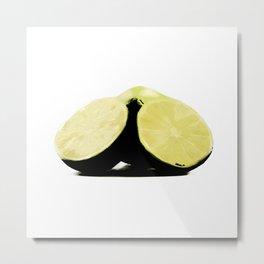 Simply Lemons Metal Print