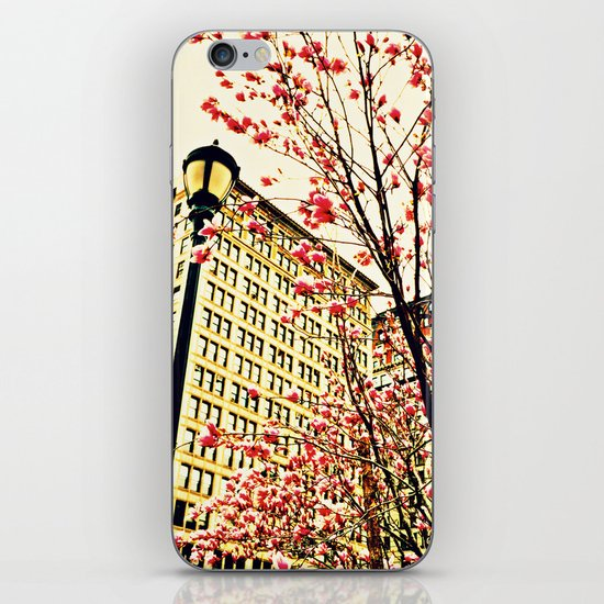 street blossoms iPhone & iPod Skin