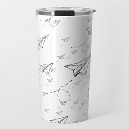 Paper Airplane 9 Travel Mug