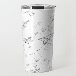 Paper Airplane 9 Travel Mug