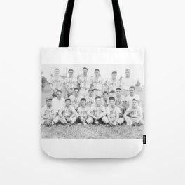Old Lisle baseball team Tote Bag